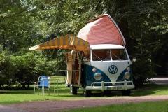 T1 Westfalia Camping Bus mit SO-44 Ausstattung und Dormobil-Dach Bj. 1966